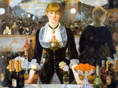 Um Bar em Folies-Bergère